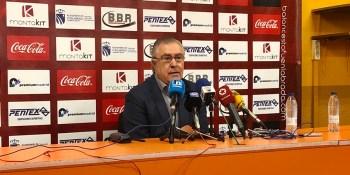 Quintana transmite tranquilidad por la situación deportiva del Montakit