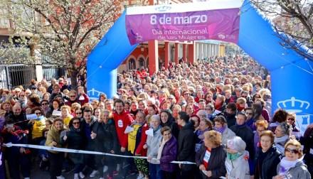 Superadas las 11.000 participantes en la Marcha por la Igualdad de Fuenlabrada