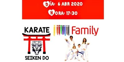 Clases on line de Kárate por parte del Club Seiken Do