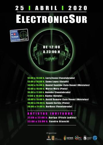 Música electrónica para el fin de semana a través del Festival Electronic Sur