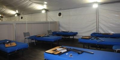 Mañana se pone en marcha el hospital de campaña para enfermos del COVID-19