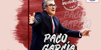 Paco García seguirá siendo el entrenador del Montakit