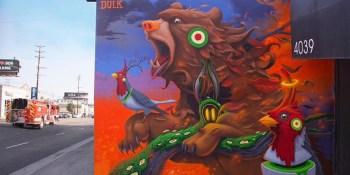 El Artista DULK se suma al proyecto de Museo de Arte Urbano de Fuenlabrada