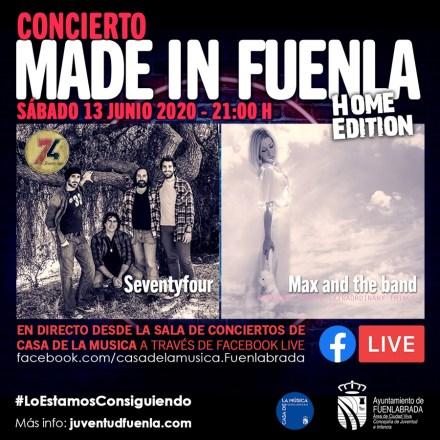 Los conciertos Made in Fuenla se retoman desde casa