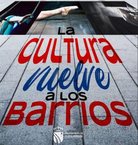 Balance positivo del programa La Cultura vuelve a los barrios