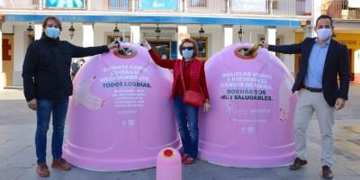Campaña Recicla vidrio por ellas en el día Mundial contra el Cáncer de Mama