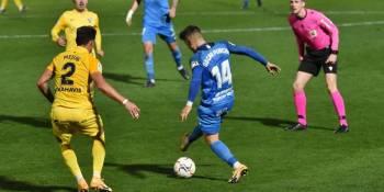 El Málaga asalta el Fernando Torres en el peor partido del Fuenla