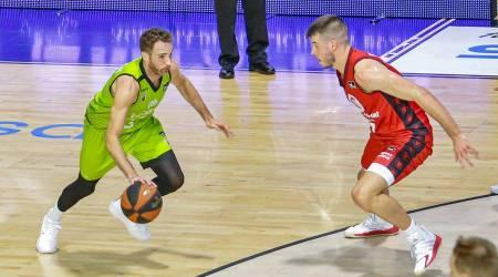 Como nos cuenta el navarro Alex Urtasun, el Urbas Fuenlabrada solo mira ya al duelo ante el Bilbao Basket del domingo en el Fernando Martín.