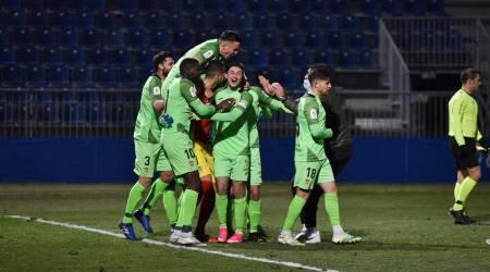 Los penaltis le dan al Fuenla el pase de ronda en la Copa