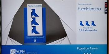 Fuenlabrada recibe de nuevo las Tres Pajaritas Azules del reciclado de papel
