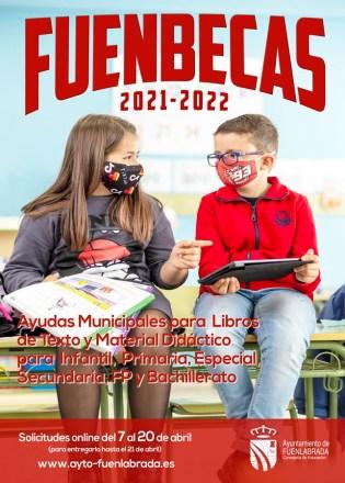 Nueva convocatoria para las Fuenbecas del curso 2021-2022