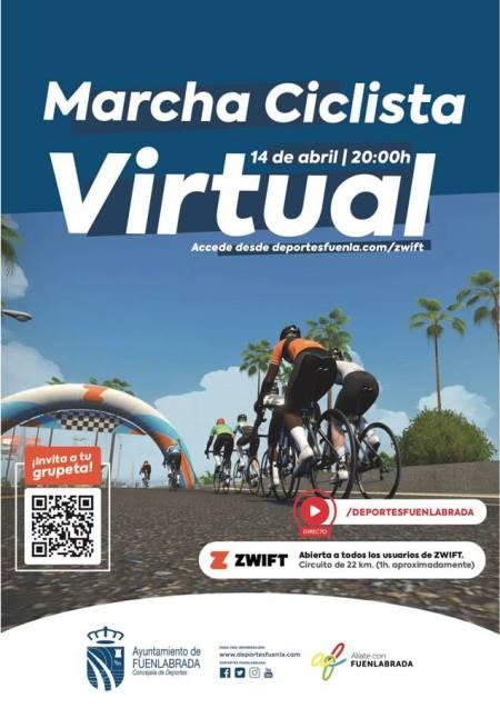 Segunda edición de la Marcha Ciclista Virtual de Fuenlabrada