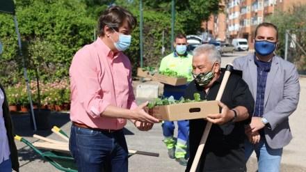 Vuelven los huertos urbanos para los mayores de Fuenlabrada