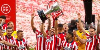 El trofeo de Campeón de Liga del Atlético de Madrid visitará Fuenlabrada