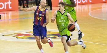 Ziga Samar es uno de los jugadores del Urbas que más ha crecido esta temporada