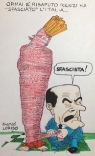 Renzi ha fallito... vignetta di Franco Loriso