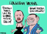 #BerlusconiFuoriDalleIstituzioni