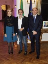 Michele Miglionico con l'Ambasciatore Carlo Lo Cascio e consorte.1