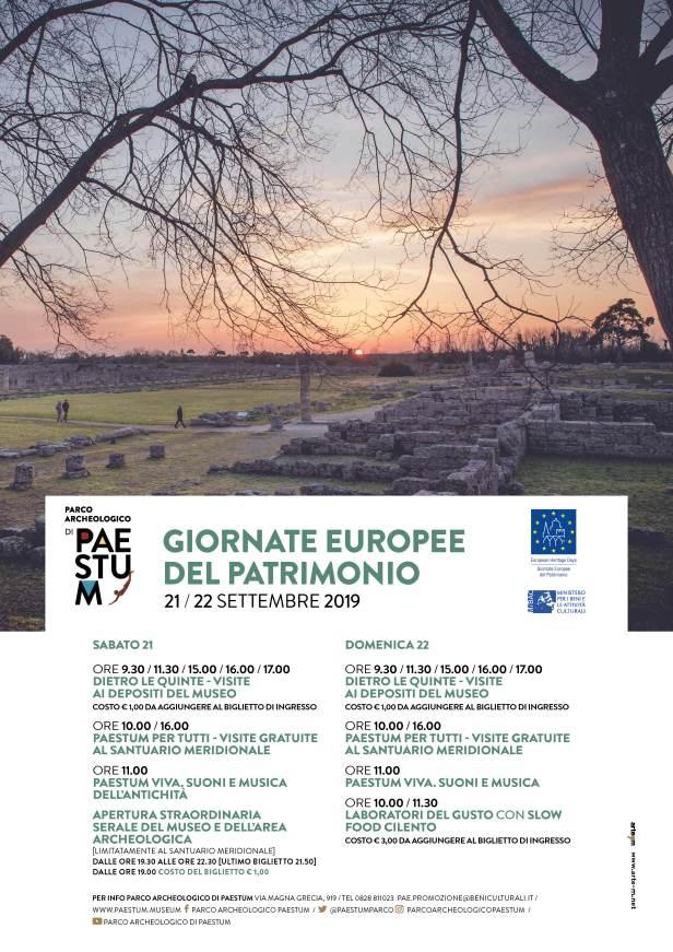 locandina Giornate Europee del Patrimonio_Paestum 21 e 22 settembre 2019.jpg