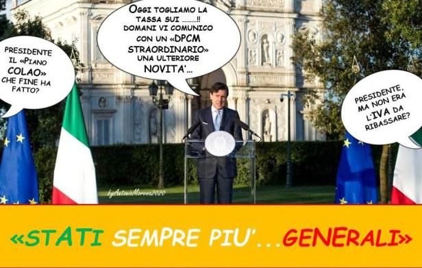 Maniera Italia Conte Boh 2020