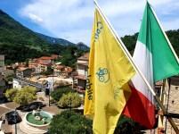 La Bandiera Gialla dei ComuniCiclabili a Piaggine
