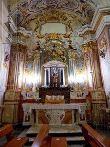 L'altare dedicato alla Madonna d'Orsoleo