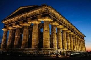 Paestum by night 2