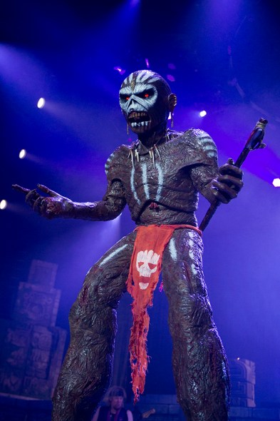 IRON MAIDEN Tulsa 26/2/16