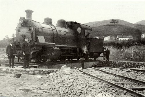 1916 locomotora Alava