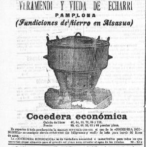 Fig. 2  Anuncio en El Eco de Navarra 1903