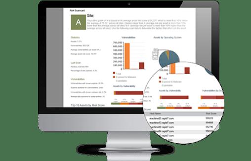 Nexpose, reducción eficaz de los riesgos