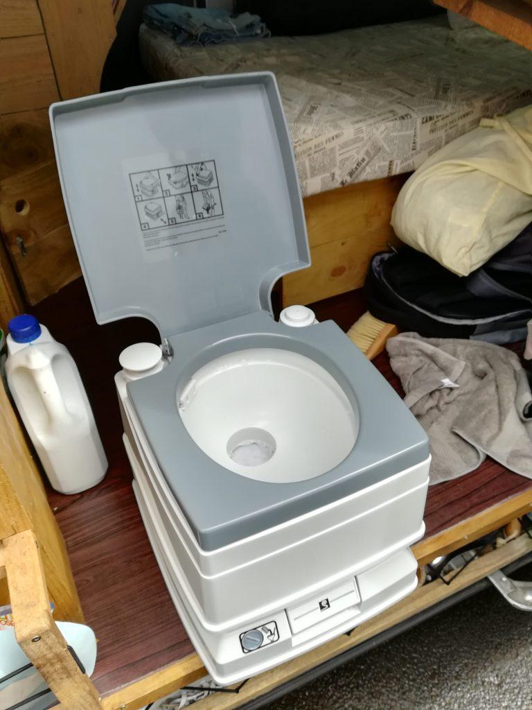 WC chimique pour van aménagé