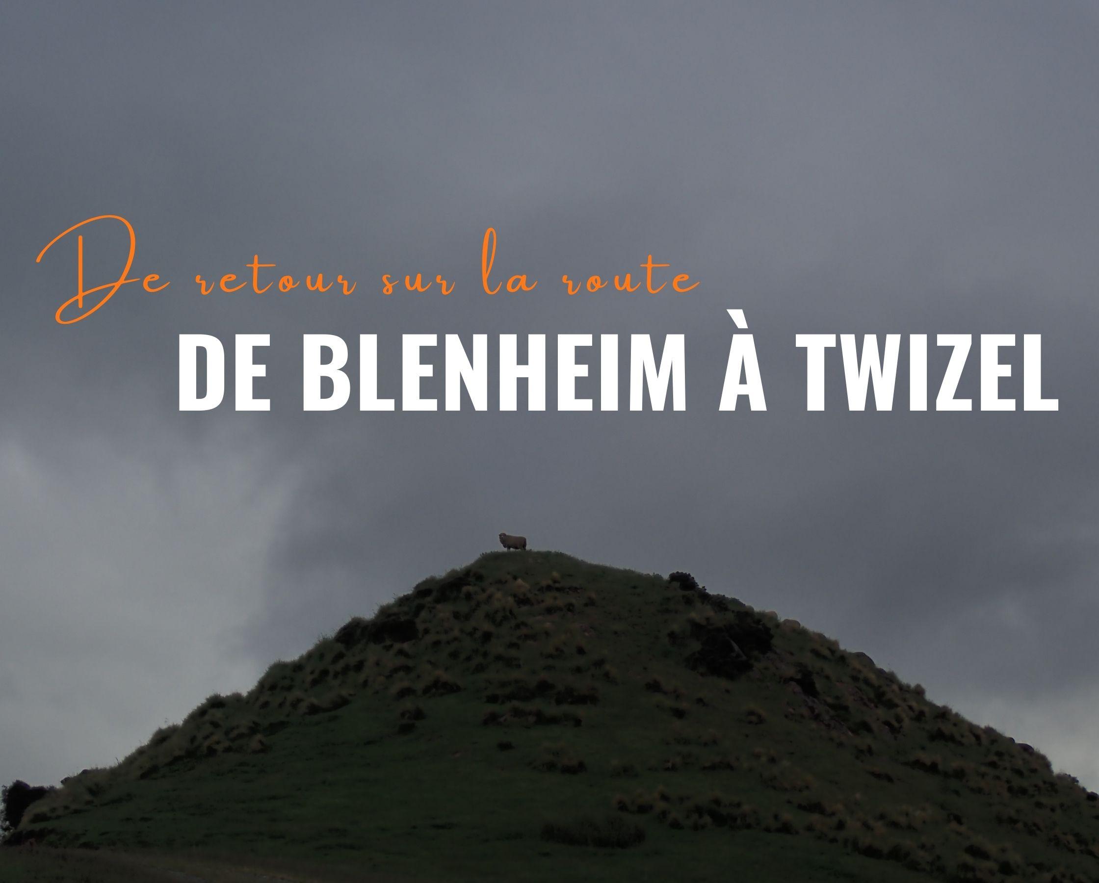 De Blenheim à Twizel : de retour sur la route