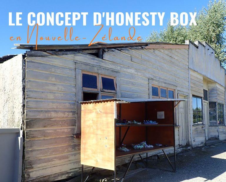Le concept d'honesty box en Nouvelle-Zélande