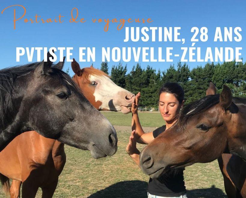 femme mettant ses amains devant des chevaux