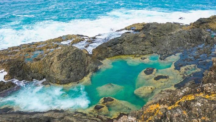mermaid pools à Matapouri Nouvelle-Zélande