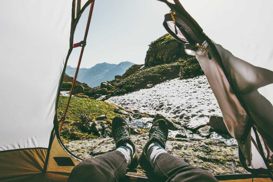 Caring For Your Feet While Camping