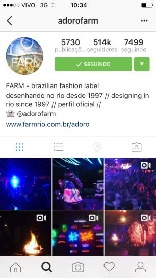 Instagram da Farm