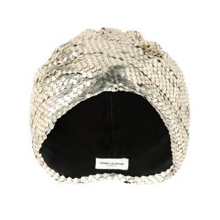 SAINT LAURENTMetallic turban