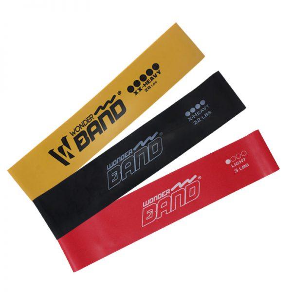 kit bandas elásticas x3