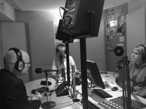 Mark Deuze in de studio