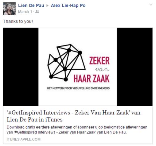 Lien de pau Alex Lie-Hap-Po Ondernemerspassie