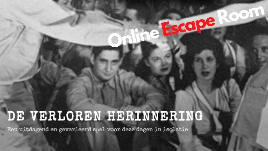 Online escape room (gratis) – De verloren herinnering