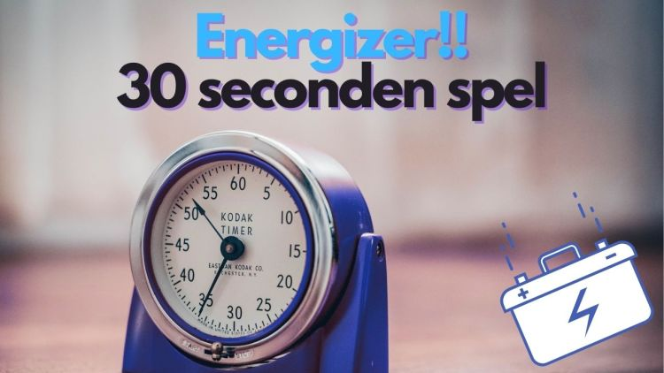 Energizer – 30 seconden spel