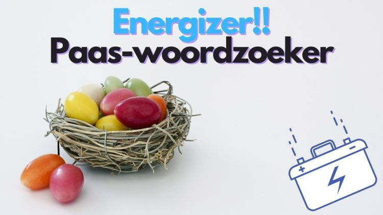 Energizer: Paas-woordzoeker