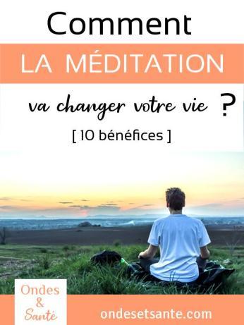 Comment la méditation va changer votre vie ? Si vous êtes souvent tendu, irrité… la méditation est un bon moyen de prendre du recul sur vous-même. Réduire le stress dans un premier temps et vous permettre de vous transformer et d'être plus heureux au quotidien ! Voici 10 bénéfices de la méditation expliqués pas à pas.