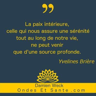 4 étapes de la paix intérieure en citation avec Yvelines Brière. Pour retrouver sérénité et motivation.
