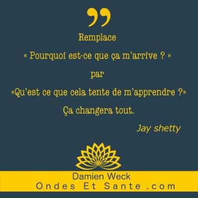 Les 29 meilleures citations de Jay Shetty. Joie, confiance, relation, émotion, sagesse, sens de la vie, motivation…