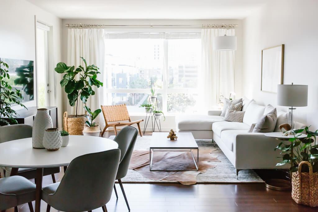 INSPIRATION  Living Room Makeover  ON DESING INTERIORS