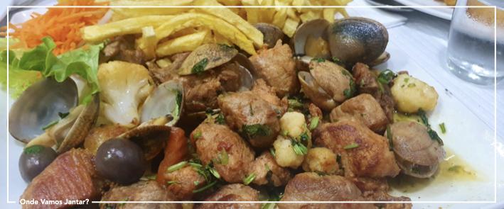 zapata restaurantes carne de porco à alentejana